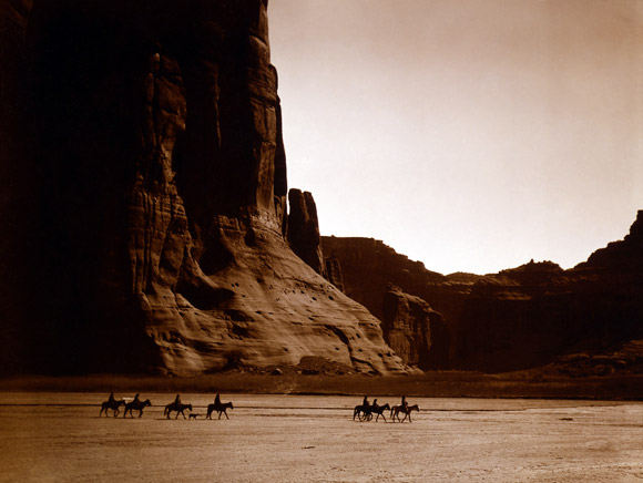 Canyon de Chelly in 1912 archive photo
