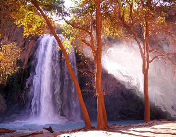 Havasupai Falls by Lisa Hering