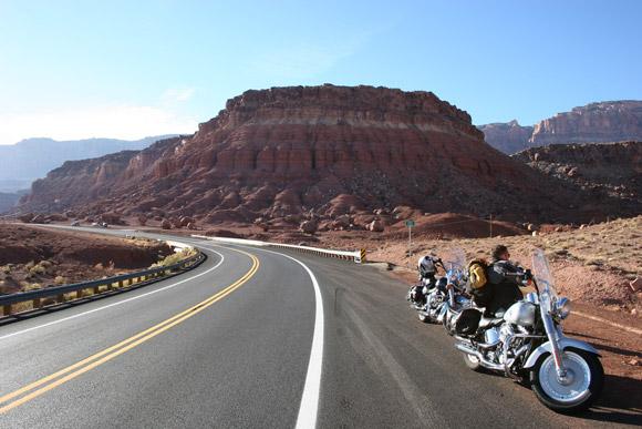 Route 66 through Arizona